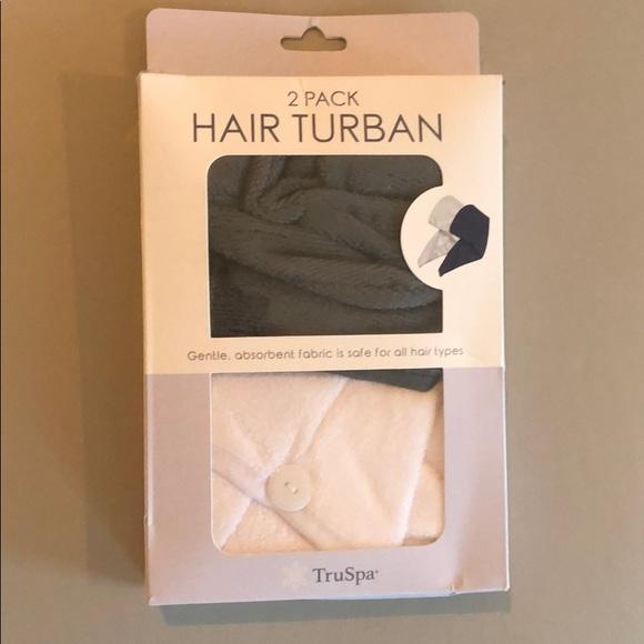 2 Pack Hair Turban New